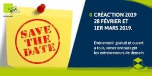 [EVENEMENT] Inscrivez-vous dès maintenant à Créac'tion 2019