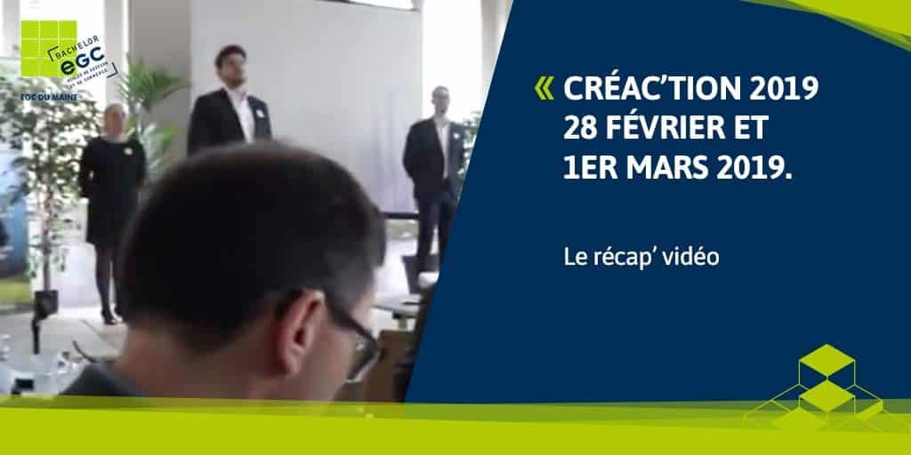 Forum Créa'ction 2019 : le plein de créativité pour un forum entrepreneuriat étudiants unique en France