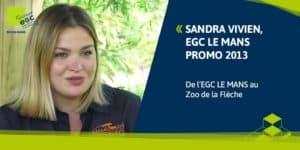 Parcours d'une diplômée : De l'EGC au ZOO DE LA FLECHE SAFARI LODGE