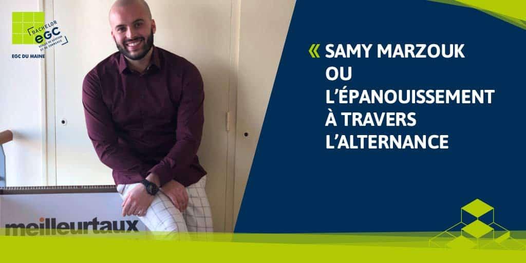 Samy Marzouk ou l'épanouissement à travers l'alternance