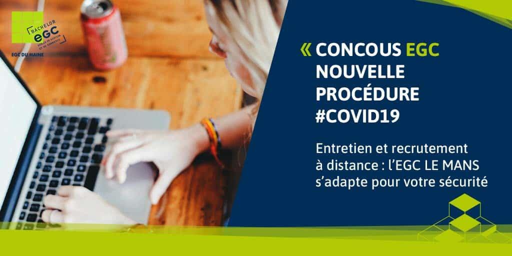 COVID 19 : Nouvelle procédure d'inscription !