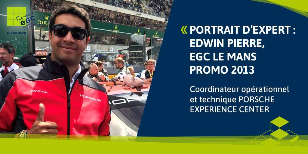 [PORTRAIT D'EXPERT] Edwin Pierre: «Chez Porsche il y a toujours un nouveau défi à relever».