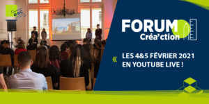 Forum Créa'ction 2021 en live !